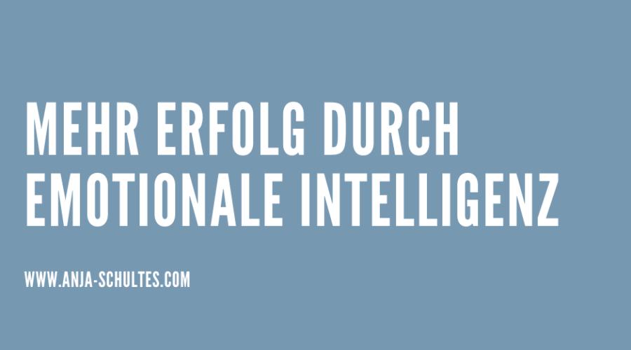 SOFT-SKILL-FÜHRUNG – Mehr Erfolg durch emotionale Intelligenz